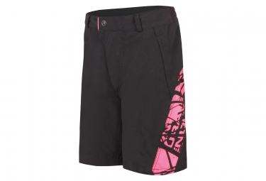 Endura Hummvee Kids Sport Shorts with Liner Black Pink