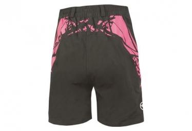 Endura Hummvee Kids Sport Shorts with Liner Black Pink