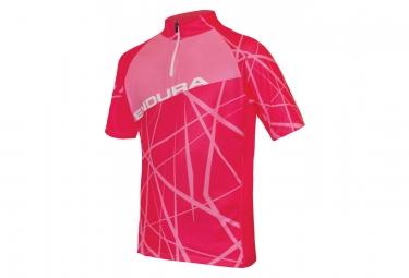 Endura Hummvee Ray Kids Short Sleeves Jersey Pink