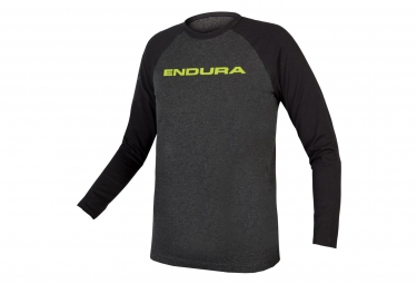 ENDURA Kids One Clan Raglan Long Sleeves Grey