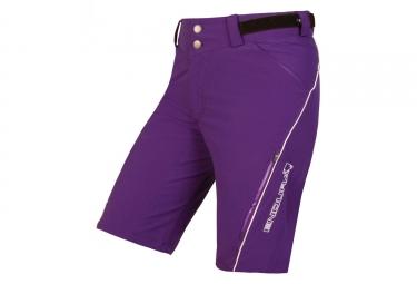 Endura SingleTrack Lite Women Sport Shorts Purple