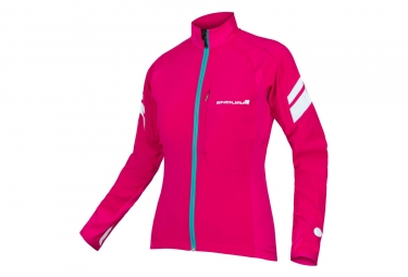 Endura Windchill II Women Windbreaker Jacket Cerise Pink