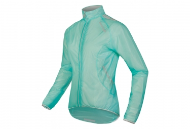 Endura FS260-Pro Adrenaline Race Women Waterproof Jacket Teal Blue