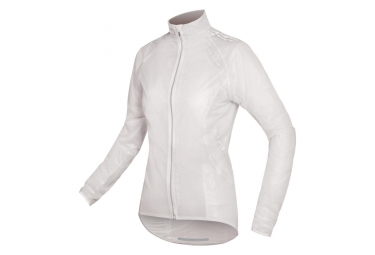Endura FS260-Pro Adrenaline Race Women Waterproof Jacket White