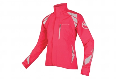 Endura Luminite DL Women Waterproof Jacket Neon Pink