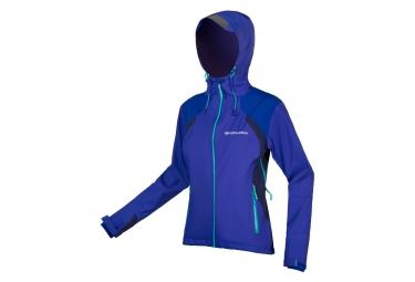 Endura MT500 II Women Waterproof Jacket Colbat Blue