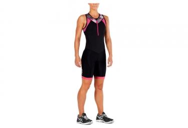 2XU Active Trisuit Damen Schwarz / Rosa