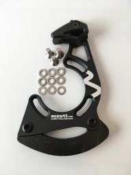 Guide chaine aluminium hxr components iscg05 noir 28 34t
