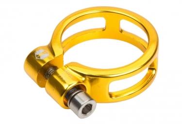 Collier de selle Box Helix 25.4mm Or