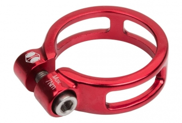 Image of Collier de selle box helix 25 4mm rouge