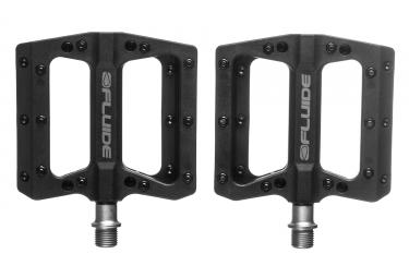 FLUIDE Flat Pedals Pression Black