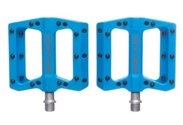 FLUIDE Flat Pedals Pression Blue