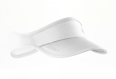 2XU Run Visor White