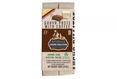 Lucho Dillitos 10 Barritas energéticas Guava Coffee 40g
