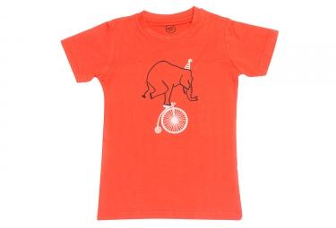 T-shirt MARCEL PIGNON Enfant ELEPHANT Orange