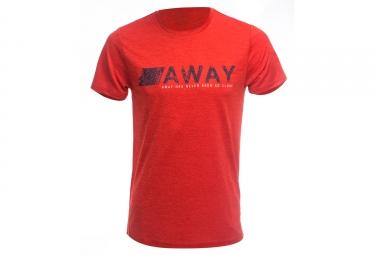 T shirt lafuma shift vibrant rouge xl