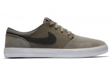 Chaussures Nike SB Solarsoft Portmore II Gris Foncé