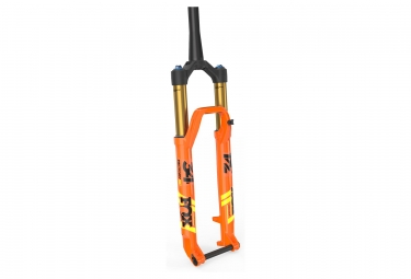 Fourche fox racing shox 34 sc float factory 27 5 kabolt fit4 3pos adj boost 15x110 deport 44mm orange 2019 120