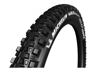 Pneu arriere michelin wild enduro gum x tubeless ready 27 5 souple noir 2 40