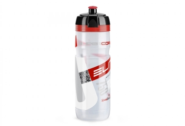 Elite bidon hygene supercorsa rouge transparent 750 ml