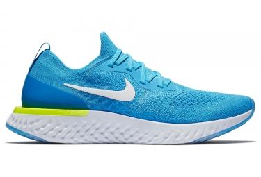 Chaussures de running nike epic react flyknit bleu homme 44