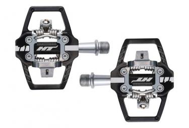 Paire de pedales automatiques ht t1 sx noir