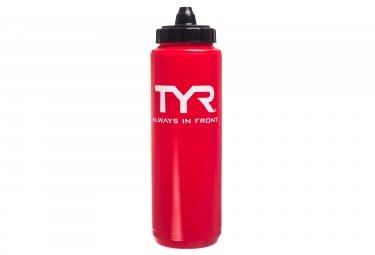 TYR Watterbottle 750ml Rojo