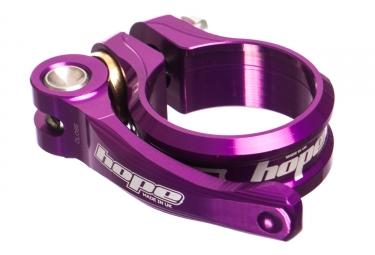 Collier de selle hope serrage rapide violet 34 9