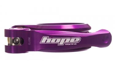Collier de Selle Hope Serrage Rapide Violet
