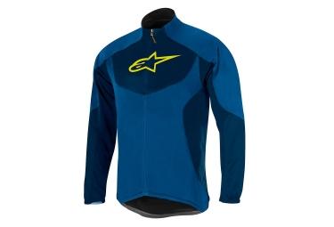 Veste thermique alpinestars mid layer bleu s