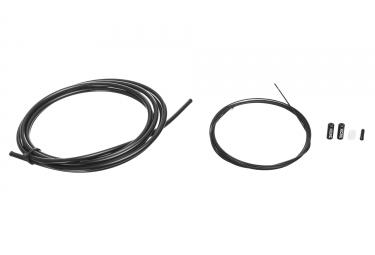 Kit cable et gaine de derailleur kcnc noir