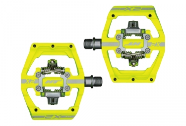 HT Components X2 Clipless Pedals Neon Yellow