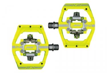 Paire de Pedales Automatiques HT Components X2 Jaune