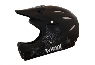 Casque Trick-X Full Star Noir / Gris mat