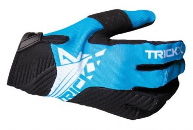 Trick X Race Long Gloves Kids Black/Blue