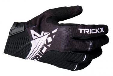 Trick X Race Long Gloves Kids Black