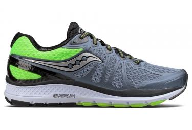 Chaussures de Running Saucony Echelon 6 Gris / Vert / Fluo