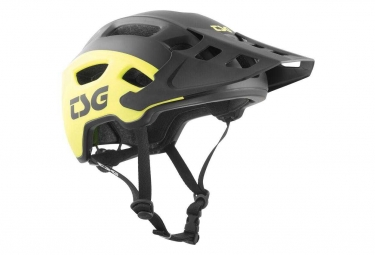 TSG Helmet Trailfox Graphic Design Sides Yellow/ Black