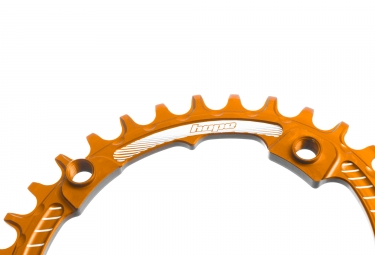 Hope Retainer Oval Narrow Wide Chainring Orange
