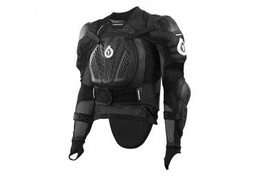 661 sixsixone veste de protection rage pressure noir xxl