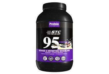 Boisson proteinee stc nutrition 95 protein pot de 2 25 kg chocolat