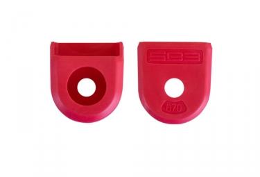 Paire de proteges manivelles sb3 rouge