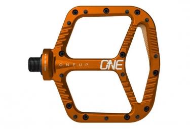 OneUp Paire de Pédales Aluminium Orange