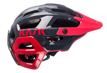 Casque VTT Kask Rex Gris Rouge