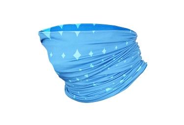 Calentador de cuello Castelli Cabeza de mujer Thingy Blue