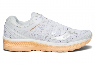 Chaussures de Running Femme Saucony Triumph Iso 4 White Noise Noir / Orange