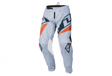 Pantalon one industries atom navy blanc bleu orange 34