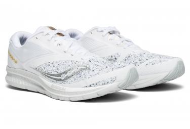 Chaussures de Running Saucony Kinvara 9 White Noise Blanc