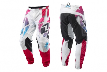 Pantalon one industries atom vented shred blanc multicolor 30