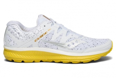 Paire de chaussures running saucony guide iso white noise 45